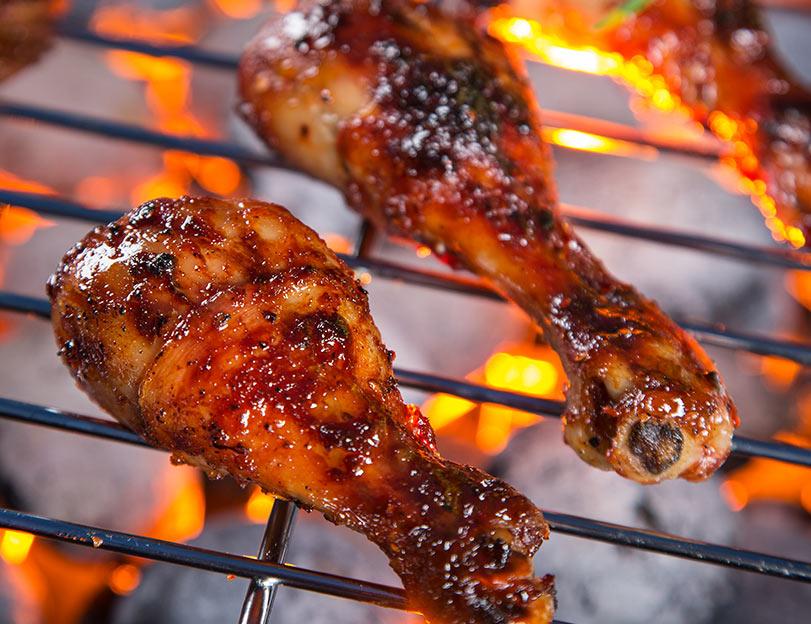 Commandez votre poulet grillé Chez Nico